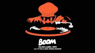 Major Lazer & MOTi - Boom (Feat. Ty Dolla $ign, Wizkid, & Kranium) (Audio)