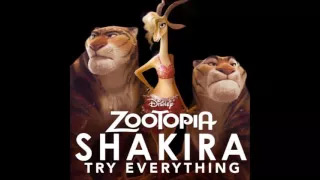 Shakira - Try Everything (Audio)